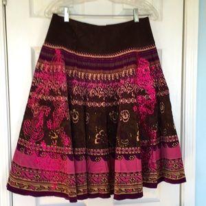 Pristine Corduroy Skirt